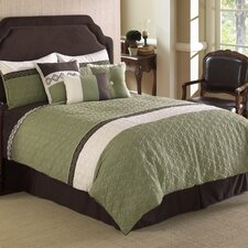Frontera Quilted 7 Piece Comforter Set