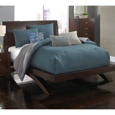 Contempo Solid 6 Piece Comforter Set