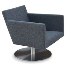 Harput Swivel Round Arm Chair