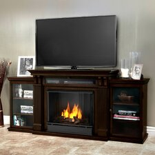 Calie TV Stand and Gel Fuel Fireplace