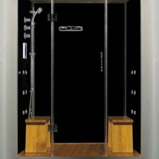 "Royal Care 59"" x 40"" x 84"" Pivot Door Steam Sauna Shower"