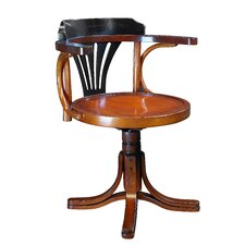 Low-Back Purser's Office Chair