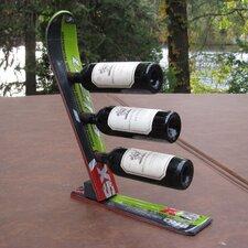 Snow 3 Bottle Tabletop Wine Rack
