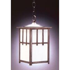 Lodge 1 Light Outdoor Hanging Lantern