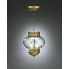 Onion 2 Light Outdoor Hanging Lantern
