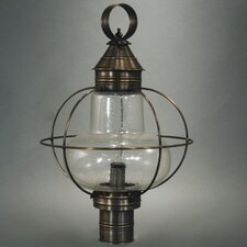 Onion 1 Light Post Lantern