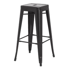 Metropolis Metal Backless Bar Stool (Set of 4)