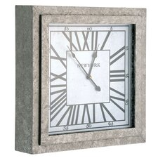 "19.8"" New York Square Clock"