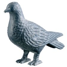 Cast Iron Pigeon Figurine (Set of 4)