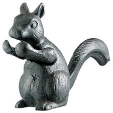 Cast Iron Squirrel Figurine (Set of 2)