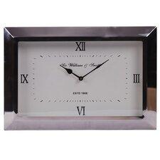 Fall Aluminum Rectangular Clock