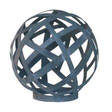 Metal Latice Decorative Ball Sculpture