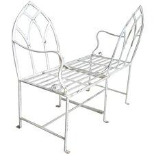 Conversation Steel Garden Bench