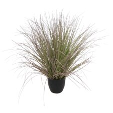 Faux Grass in Pot