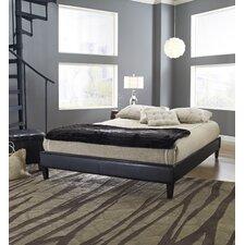 Adams Padded Upholstered Platform Bed
