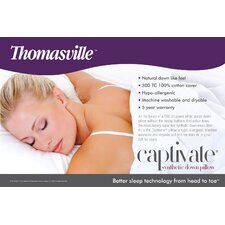 Thomasville Captivate Synthetic Down Pillow (Set of 2)
