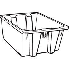 19.45-Gallon Palletote Box in Gray