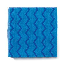 Hygen Microfiber Cleaning Cloths in Blue (Set of 12)