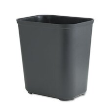 7-Gal Fire-Resistant Rectangular Wastebasket