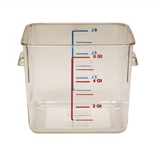 6-qt. Square Storage Container