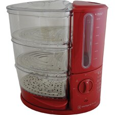 9.5-Quart 3-Tier Rapid Food Steamer