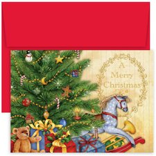 Masterpiece Studios Rocking Horse Boxed Holiday Card
