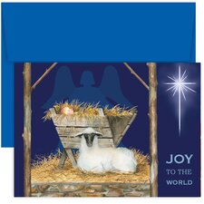 Masterpiece Studios Joy to the World Boxed Holiday Card