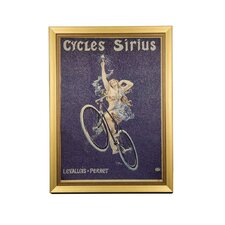 Reach for the Stars Cycles Sirius Vintage Advertisement