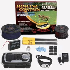 Extra Value Combo Systems Humane Contain Dog Electric Fence