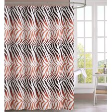 Peva Ombre Geo Shower Curtain