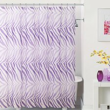 Peva Zebra Shower Curtain