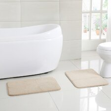 Shroeder 2 Piece Bath Rug Set