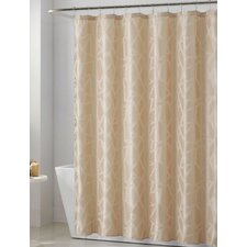 Woven 13 Piece Glass Shower Curtain Set