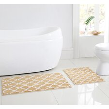 Barton 2 Piece Bath Rug Set