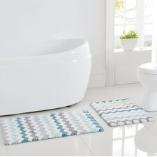 Corso 2 Piece Bath Rug Set