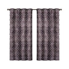 Andreas Print Saxton Single Curtain Panel