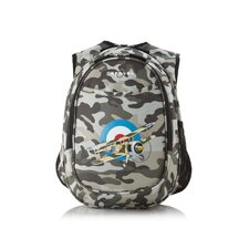 Kids All in One Preschool Camo Airplane Cooler Backpack
