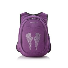 Kids All in One Preschool Bling Rhinestone Angel Wings Cooler Backpack