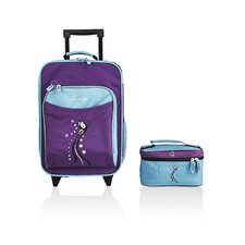 O3 Kids Butterfly Luggage and Toiletry Bag Set