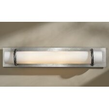 Cavo Wall Sconce Vintage Platinum with Opal Glass