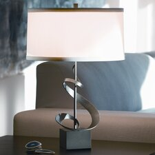 """Gallery Spiral 22.9"""" H Table Lamp with Drum Shade"""