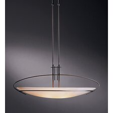 Oval Mackintosh 2 Light Adjustable Pendant