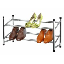 2-Tier Expandable Shoe Rack