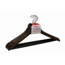 Non-Slip Wood Coat Hanger (Set of 5)