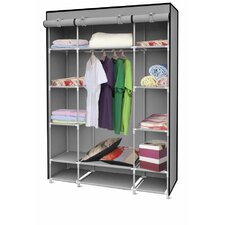 "67"" H x 52.4"" W x 18"" D Storage Closet with Shelving"