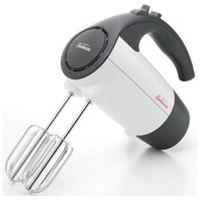 220 Watt 6 Speed Retractable Cord Hand Mixer