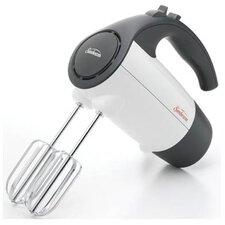 220 Watt 6 Speed Retractable Cord Hand Mixer