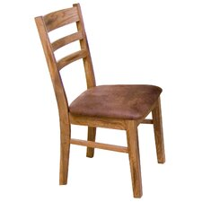 Ladder back Upholstered Sedona Side Chair