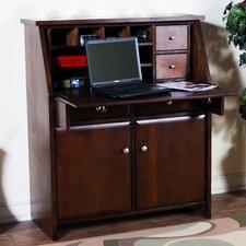 Cappuccino Armoire Desk