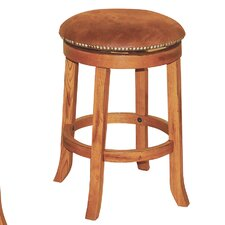 "Sedona 20.5"" Swivel Bar Stool with Cushion"